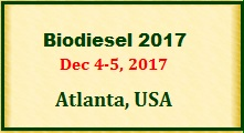 Biodiesel Conferences 2017
