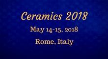 Ceramics Conferences 2018