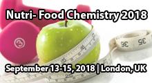 Nutri-Food chemistry 2018