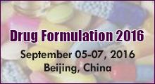 Drug Formulation Congresses 2016