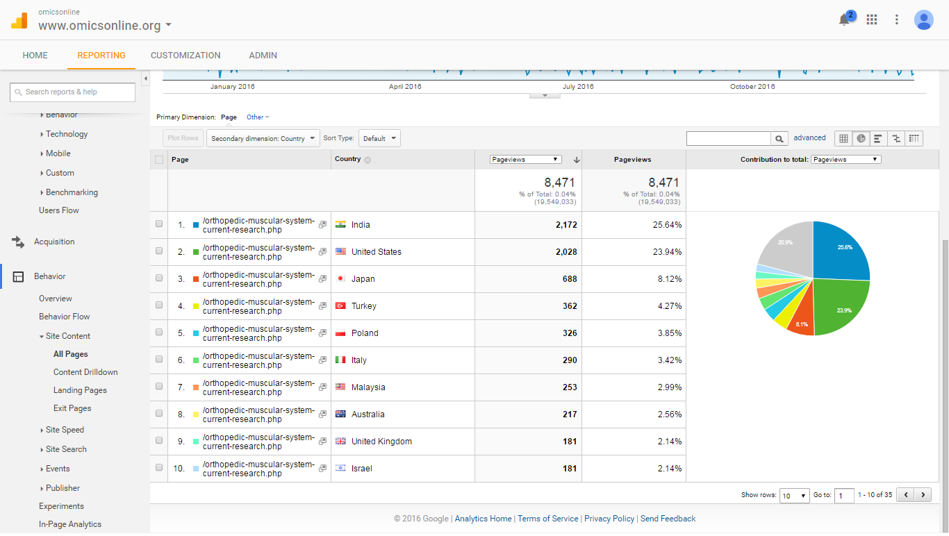 Visitor Analysis Report